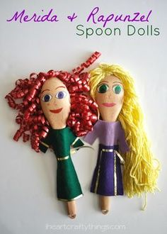 Spoon Dolls and 9 other toys you can DIY at half the cost of the store versions!