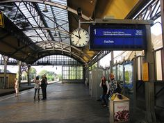 Hauptbahnhof Krefeld, Germany