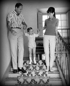 Audrey, Mel and Sam