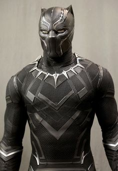The Black Panther suit in the MCU is epic