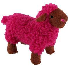 Mordedor Pelúcia Ovelha Dream Rosa Jambo Pet - MeuAmigoPet.com.br #petshop #cachorro #cão #meuamigopet