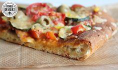 Low fat Pizzateig