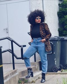 Edgy Outfits, Curvy Outfits, Casual Fall Outfits, Fashion Outfits, Black Fashion Bloggers, Black Girl Fashion, Fashion Blogs, Fashion Trends, Petite Fashion