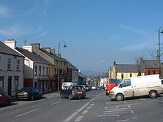 Carndonagh on the Inishowen peninsula in County Donegal, Ireland. The town lies close to the shores of Trawbeaga Bay. Carndonagh is the site of the Donagh Cross, which belonged to an early Christian monastery founded by St. Patrick