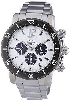 Sale Preis: Seiko Herren-Armbanduhr Solar Chronograph Edelstahl SSC243P1. Gutscheine & Coole Geschenke für Frauen, Männer & Freunde. Kaufen auf http://coolegeschenkideen.de/seiko-herren-armbanduhr-solar-chronograph-edelstahl-ssc243p1