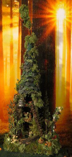 Fairy House - Fairy Tree House Woodland