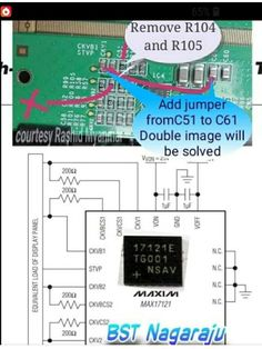 Sony Led Tv, Double Image, Tv Panel, Electronic Schematics, Tv Display, Circuit, Projects To Try, How To Remove, Samsung