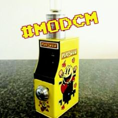 Ok my vape lifestyle followers, this #MODCM Mod Crush Mondays is still Retro 80s Pac Man arcade themed Mod. Blow clouds not smoke. Follow my home girl @juicyclouds and my new vape spot @firehouseecig #MODCM #mod #pacman #retro #juicyclouds #FireHouseEcig #vaporizer #stopthevapebanned #vapelife #vapejuice #vape #casual #basic #ecig #absolutevape #vapelifestyle #awesomeppl #itslifestyle #dodjskylineac #friends #vapefamily #global #love #trapmusic #dj #improof