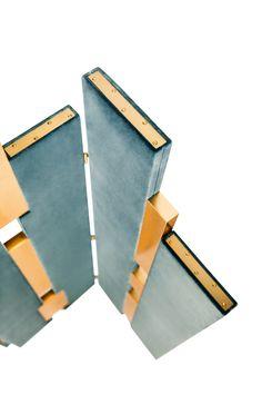 Empire | Folding Screen | Steel Blue www.munnadesign.c... #munnadesign…