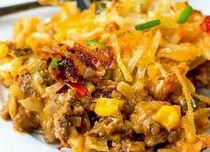 Taco Hashbrown Casserole