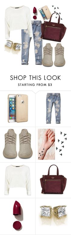 """""""Untitled #400"""" by sam-100 ❤ liked on Polyvore featuring Abercrombie & Fitch, adidas Originals, Kate Spade and NARS Cosmetics"""