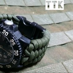 #paracord #luminox #watchstrap #military #green