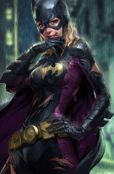 Stephanie Brown from Batgirl 12 by `Artgerm @ deviantART artgerm.deviantart.com/
