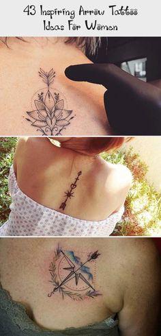 43 Inspiring Arrow Tattoo Ideas For Women Simple Arrow Tattoo, Arrow Tattoo Finger, Geometric Arrow Tattoo, Arrow Tattoo Design, Stylish Tattoo, Trendy Tattoos, Unique Tattoos, Tattoos For Women, Map Tattoos