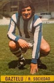 Gaztelu of Real Sociedad in 1967.