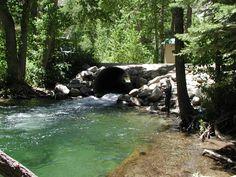 Lee Vining Creek above Lee Vining, California