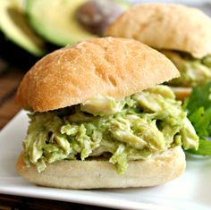 Avocado Chicken Salad Sandwiches 2