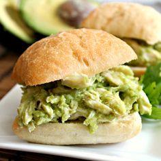 Avocado Chicken Salad Sandwiches 2