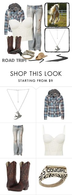 """""""Southern Style"""" by jwpixie ❤ liked on Polyvore featuring Wet Seal, dELiA*s, Free People, Le Mystère, Ariat, Dian Malouf and KENNY"""