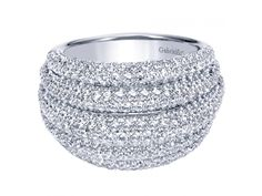 Gorgeous #diamond ring by #Gabriel Available in store!