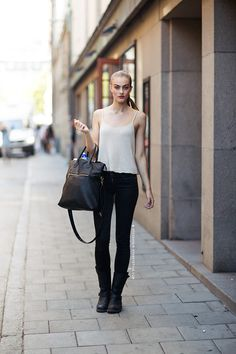 Lone Praesto - Stockholm Streetstyle