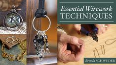 Discover your one-stop resource for wirework success! Learn accessible techniques to craft custom findings, links and wire-wrapped pendants. - via @Craftsy
