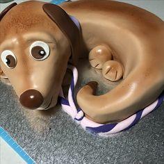 Puppy dog cake #mkcakesandsweets