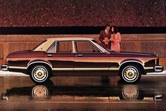 Ford Granada, I actually drove one of these!