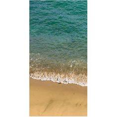 Barclay Butera Laguna I (€320) ❤ liked on Polyvore featuring home, home decor, wall art, beach home decor, canvas wall art, beach wall art, barclay butera and canvas home decor