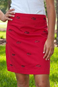 Razorback skirt