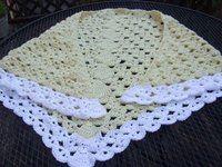 Lazy Weekend Crochet Shawl