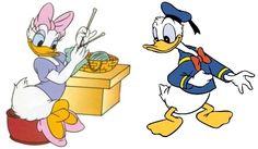 donald daisy duck   Donald And Daisy Duck...