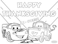 296 best thanksgiving coloring pages