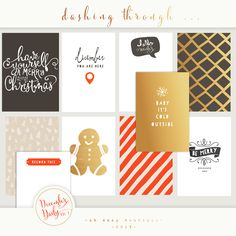 Oh Snap Boutique :: Project Life December Daily 2013 :: Project Life December Daily vol 3 Personal Use Only