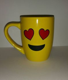 Emoji coffee Mugs by Passion4Designing on Etsy