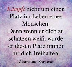 jpg'- Eine von 16034 Dateien in der Ka. - New Ideas German Quotes, Lifestyle Quotes, Mind Tricks, My Mood, Wise Quotes, True Words, Better Life, Texts, Poems