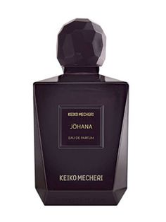 Johana Notes Japanese chrysanthemum, galbanum, rose, wisteria, iris, cocoa, patchouly, incense, vanilla, sandalwood