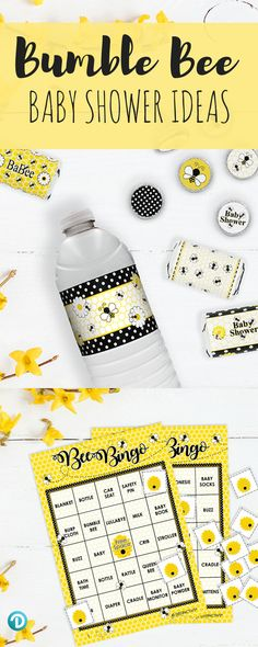 155 Best Bumble Bee Baby Shower Images On Pinterest In 2018 Bee