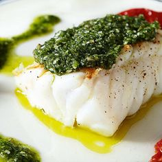 Swedish Chef, Seafood Recipes, Parmesan, Pesto, Food Porn, Food And Drink, Eggs, Fish, Breakfast