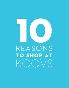 10 Reasons to shop at koovs coupon