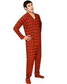 Ninja Monkey Flannel Footie Pajamas, Ninja Monkey Cotton Pjs ...