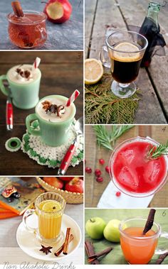 non-alcoholic drinks - Christmas Cocktails & Non-Alcoholic Festive Drinks - Merry Times!