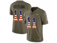 Youth Nike Philadelphia Eagles Carson Wentz Limited Olive USA Flag 2017  Salute to Service Wentzylvania NFL Jersey Shop Sports Merchandise with Big  Discounts ... 76a647342