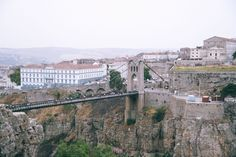 Opened in 1912, Sidi M'Cid Bridge, Constantine, Algeria, was the world's highest until 1929 Photo: Ahmet Ersoy, 1993
