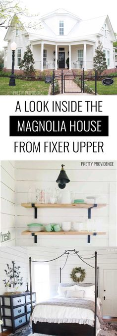 Complete tour of the Magnolia House from Fixer Upper! Chip and Jo are AMAZING!!!