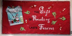 Upland Public Library Holiday Display