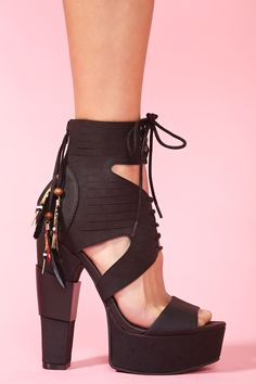 Thayer Platform in Black