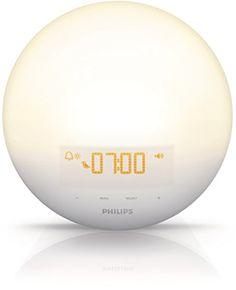 Philips Wake-Up Light with Sunrise Simulation alarm clock...