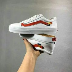 630ae936891ab6 2018 off-white x vans oId skool Men and Womens Sneakers canvas Sports shoes  Weight