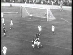 Hungary 1 Wales 1 in 1958 in Sandviken. Jozef Bozsik scores after 5 minutes in Group 3. 1-0 to Hungary at the World Cup Finals.